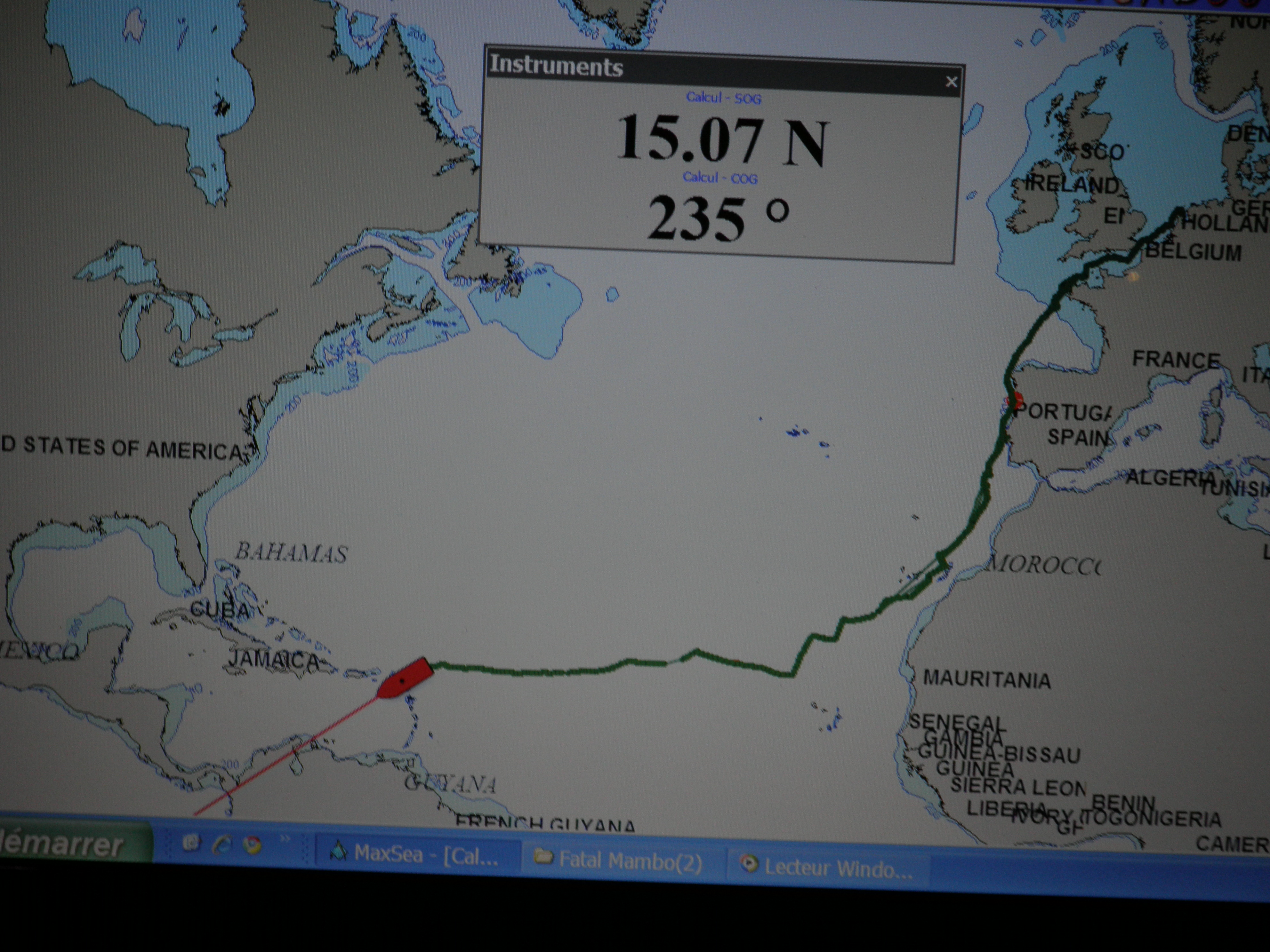 ROUTE TRANSPAC